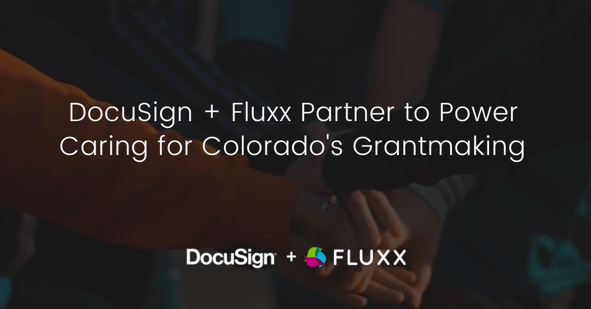 Fluxx | Grants Management | Philanthropy and nonprofit technology news.